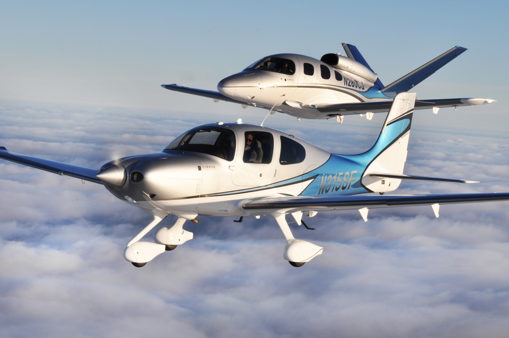 A high-end Cirrus Aircraft