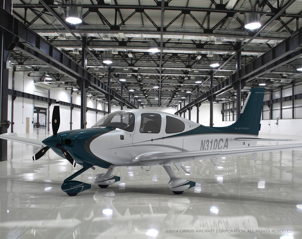 A Cirrus aircraft for learning to fly
