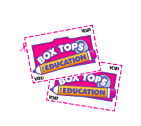 Collect your Box Tops! - Collect as many Box Tops as you can in October! Classes will compete to see who can collect the most! More details coming soon!