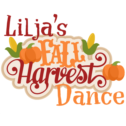 Fall Harvest Dance - The Lilja School Fall Harvest Dance is on Friday, November 2nd from 6:30-8:30pmWe hope you can join us for a fun night of dancing and games with DJ Mike's Crew, fun activities, and refreshments. This fundraising event is $5 per person with a family cap of $20 per family! Pay online in advance for your convenience but credit, cash, or check payments will be accepted at the door. All proceeds go to the Lilja PTO who make our school an awesome place for our Lions to learn and have fun! Can't wait to see you there!Sign up to volunteer for the Fall Fest Dance HereClick here to buy tickets