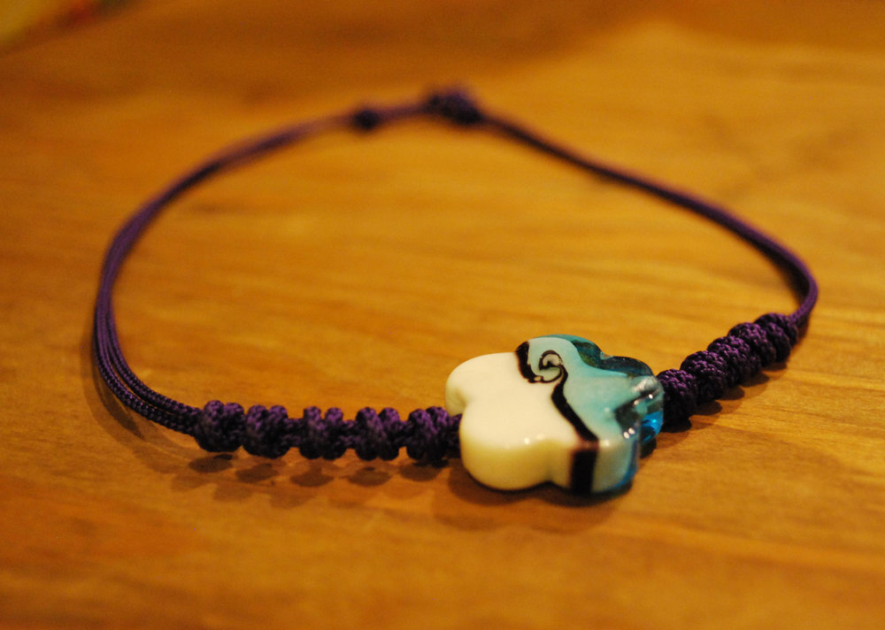 Knotted Necklace  - Color:  PurpleStarting bid:  $60Current highest bid:  $60To place a new bid: $65+