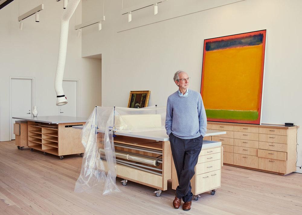 Renzo Piano for  Vanity Fair