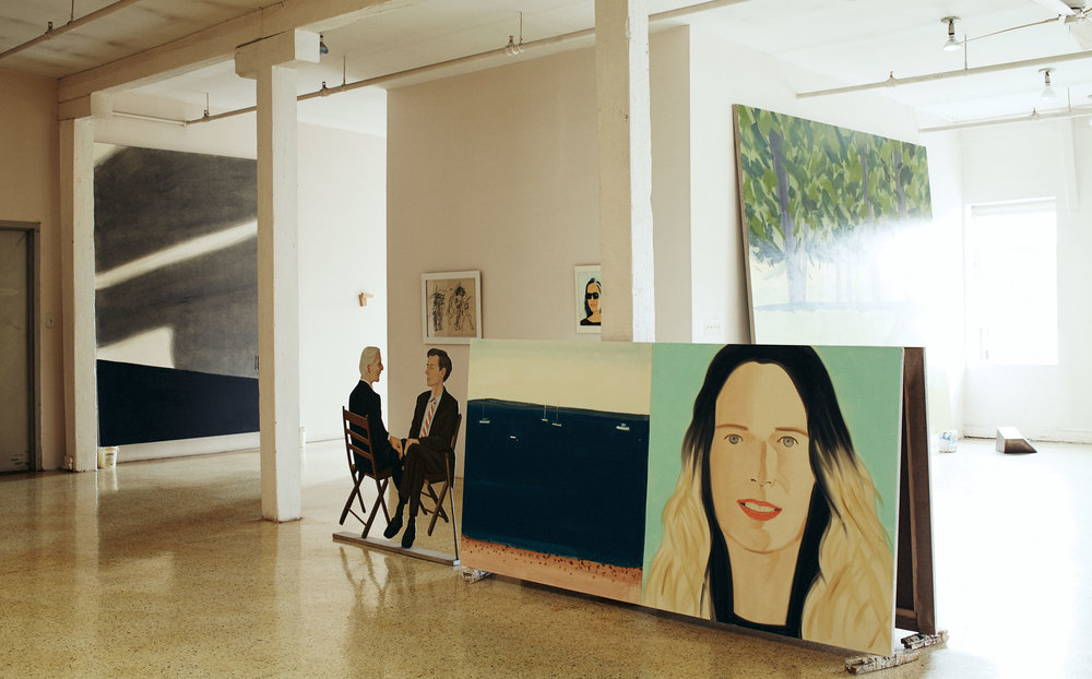 Alex Katz for  L'Official