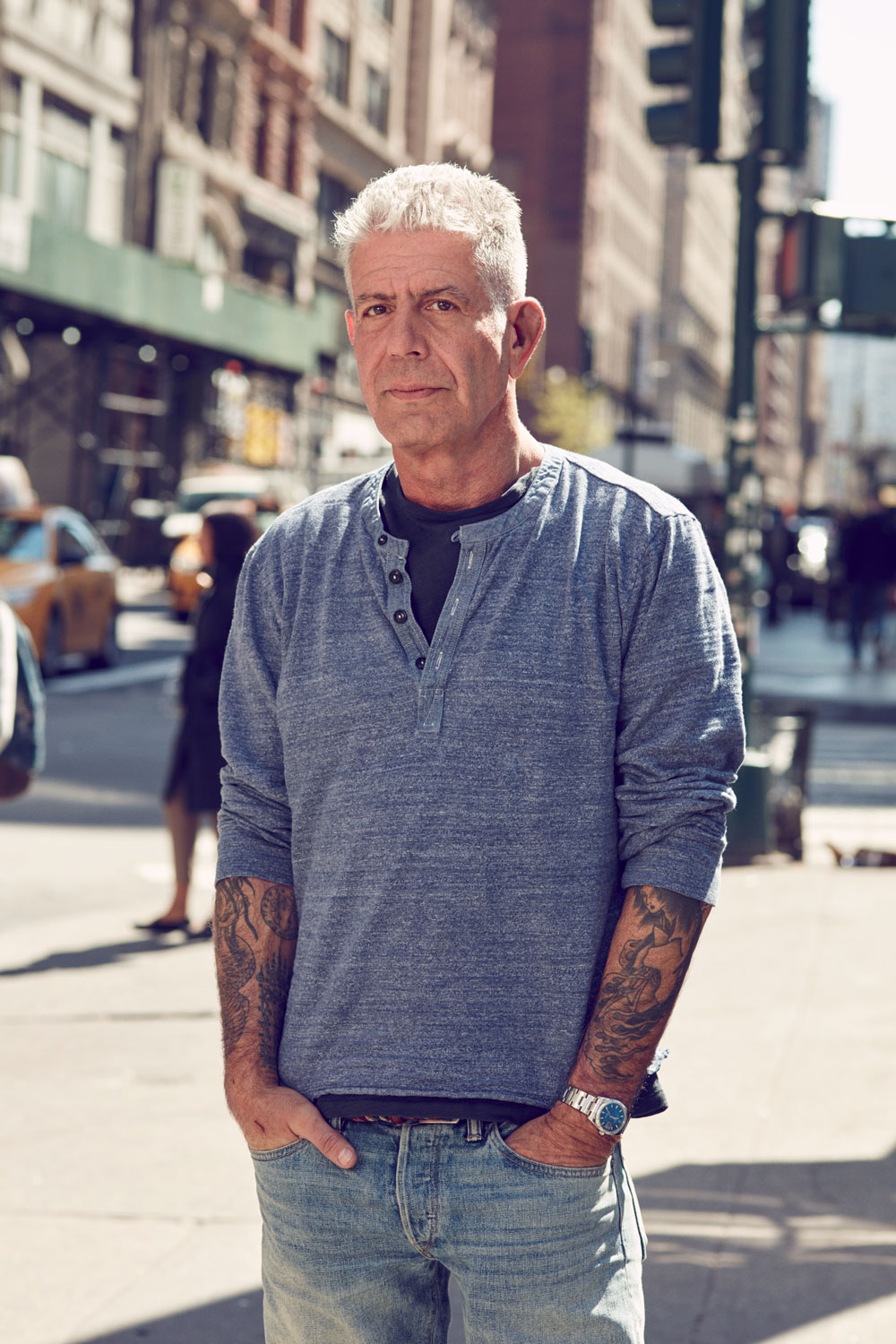 Anthony Bourdain for  NUVO