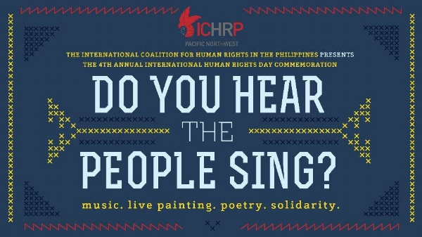 A Concert for Human Rights in the Philippines