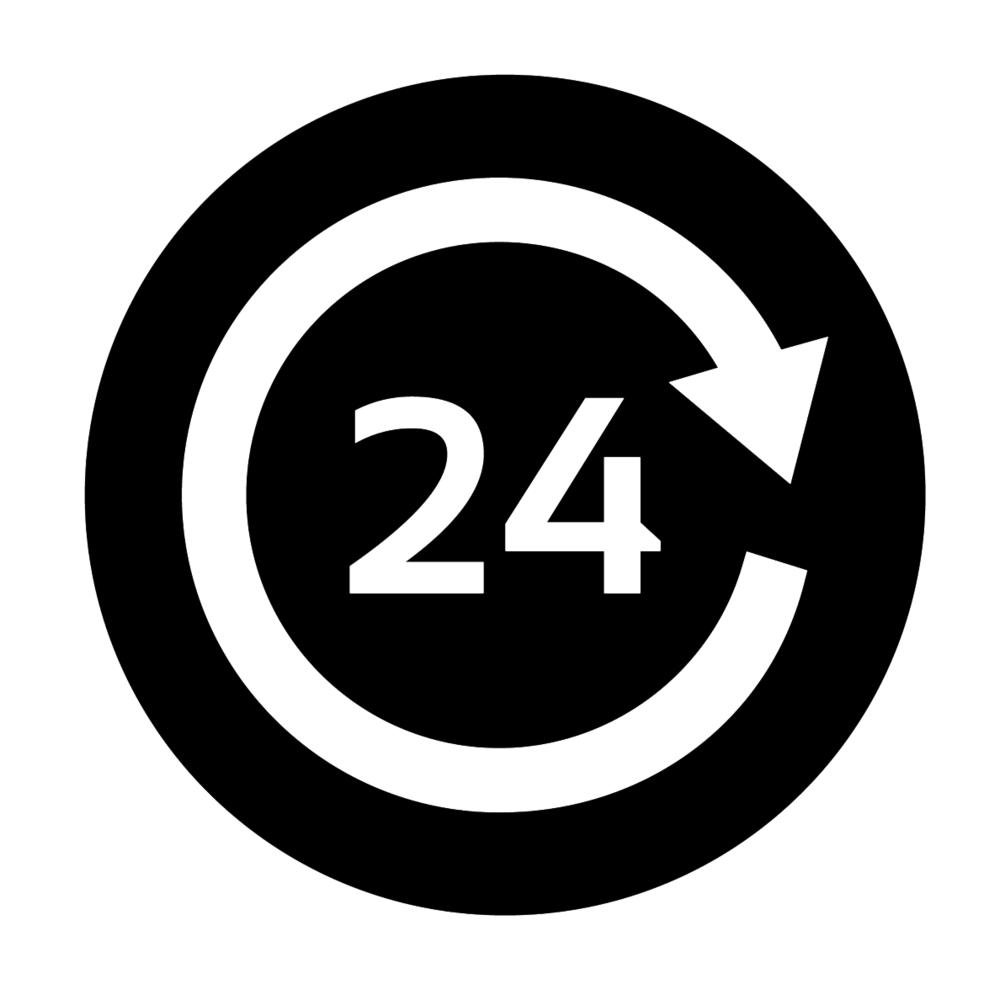 OPEN 24 HRS