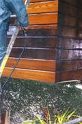 SARAClean being used to clean Cedar