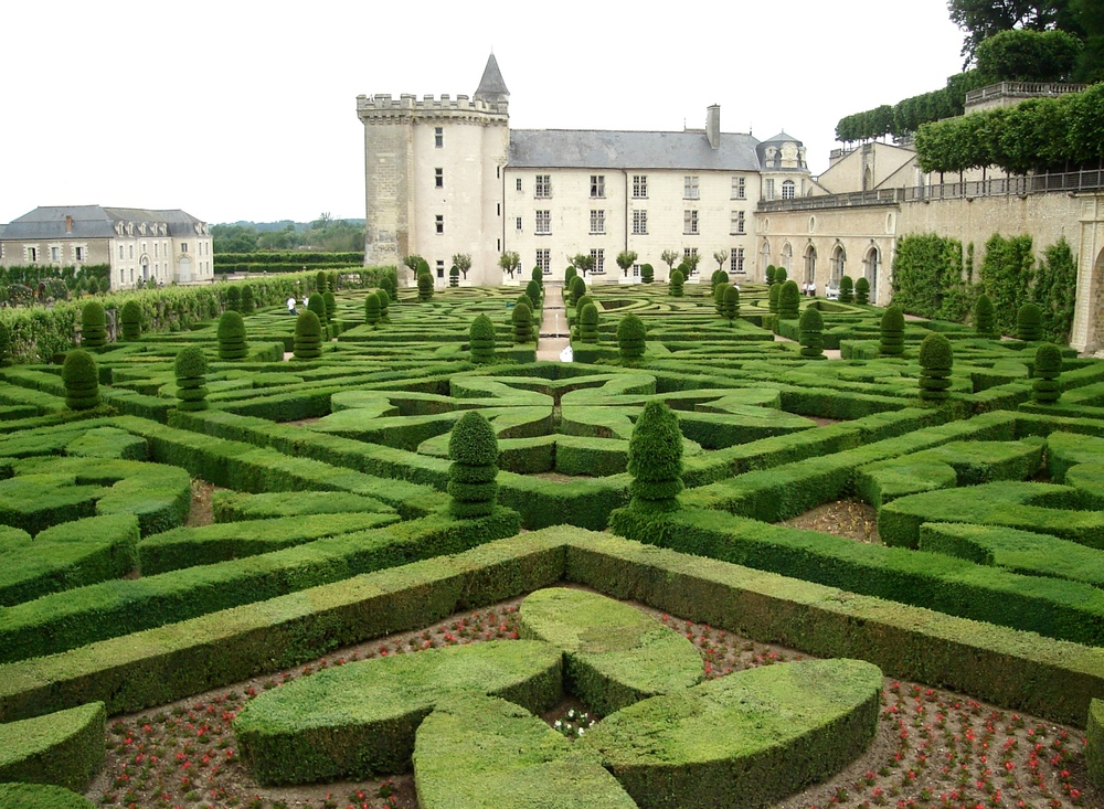 Villandry in May