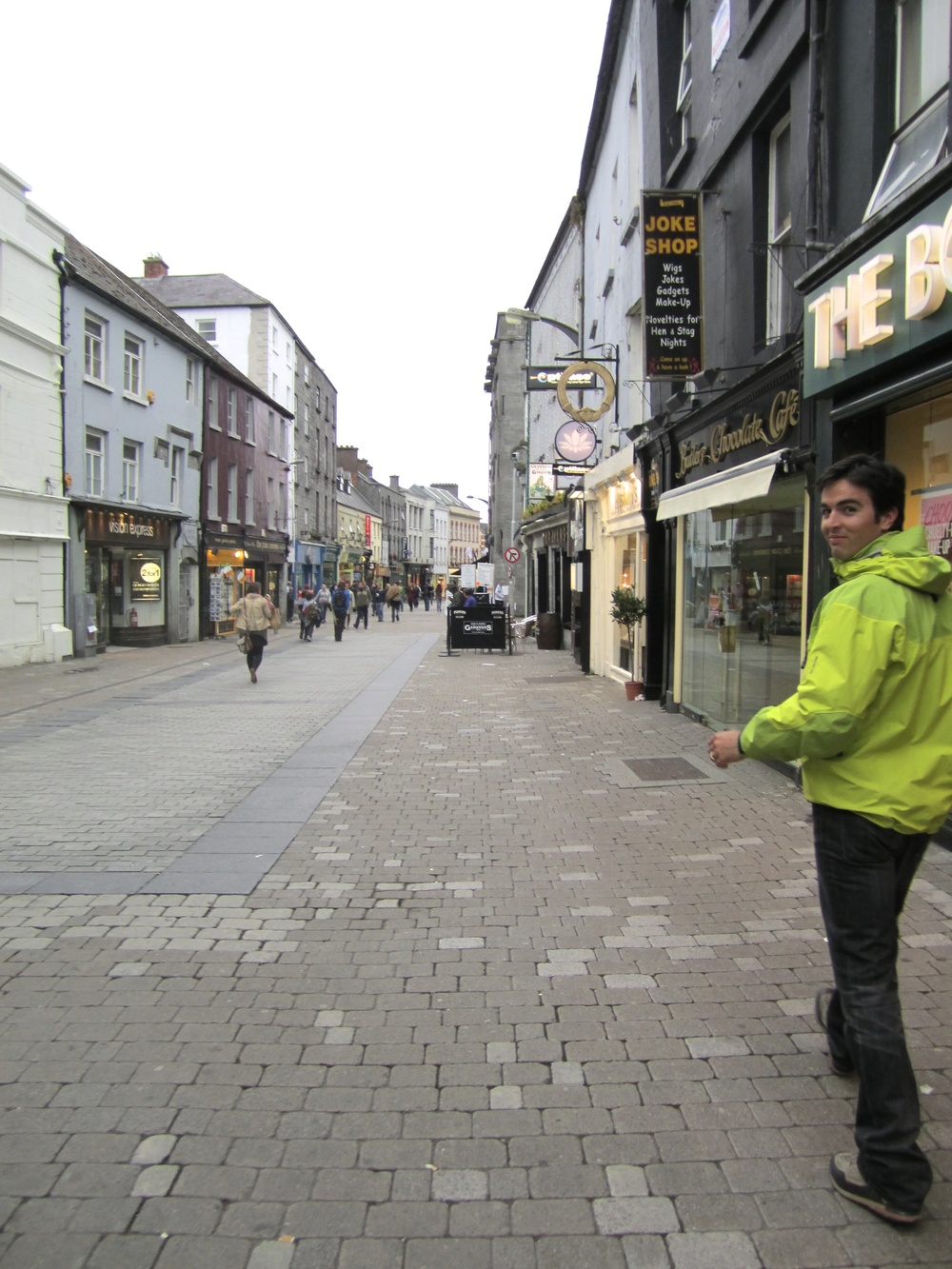 Walking the streets of Galway