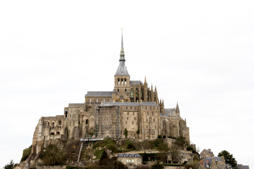 Le Mont St Michel, Brittany, France