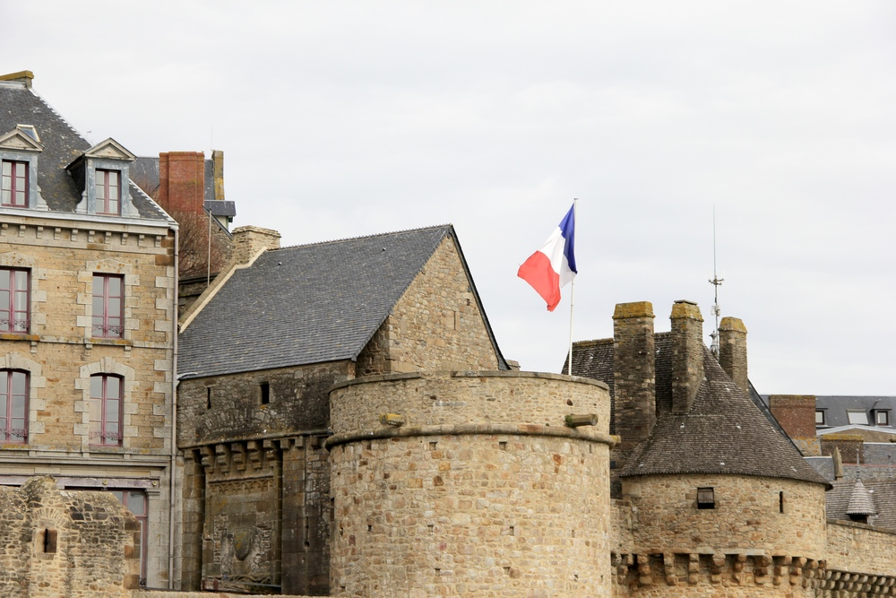 Vive la France! | Mont St Michel