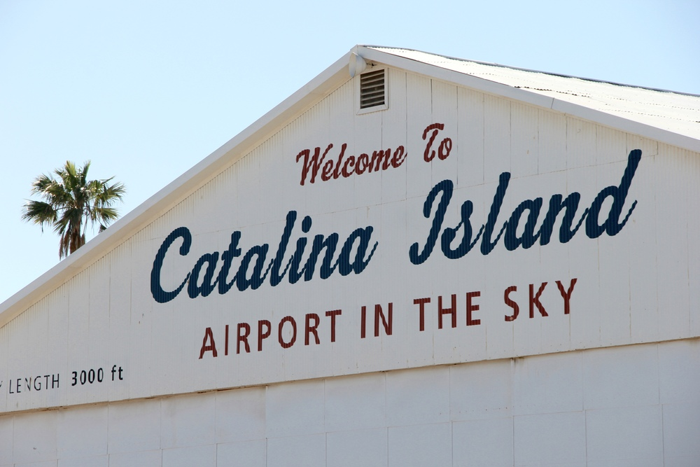 early stop on day 2: catalina airport