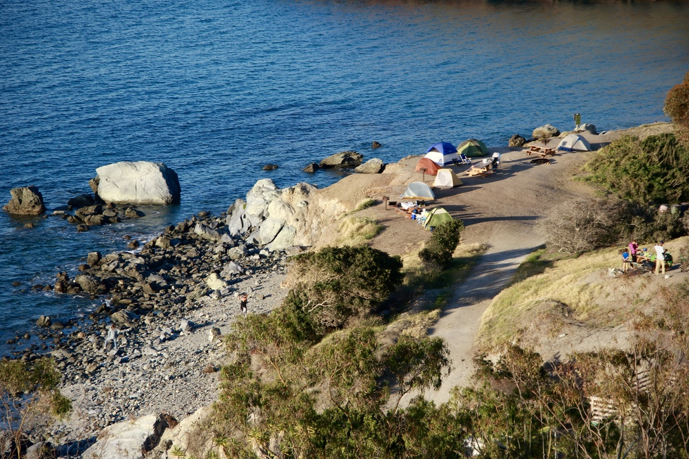 two harbors campground