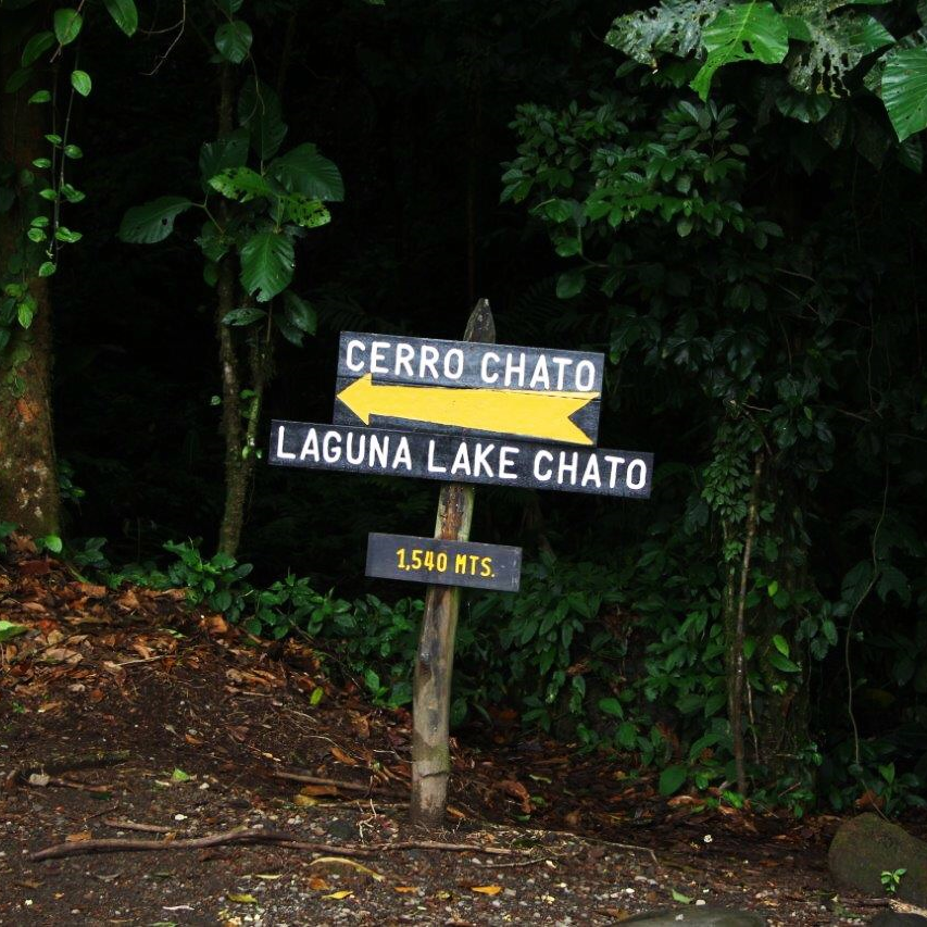 Cerro Chato hike in Arenal Volcano National Park