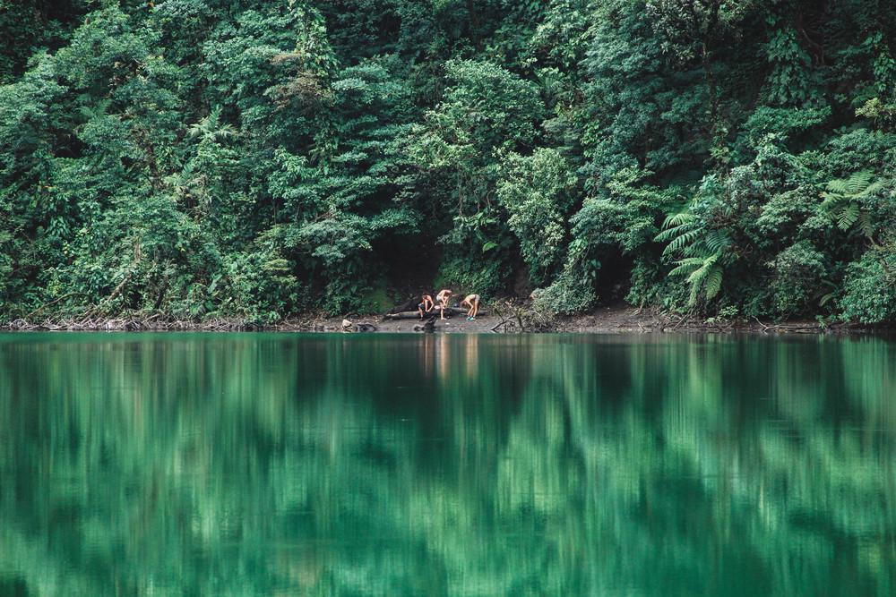 Bathers at Cerro Chato