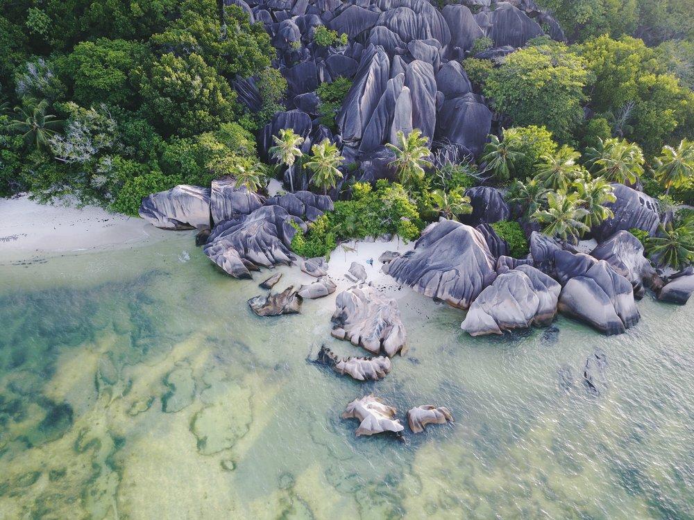 Anse Source d'Argent on La Digue, Seychelles