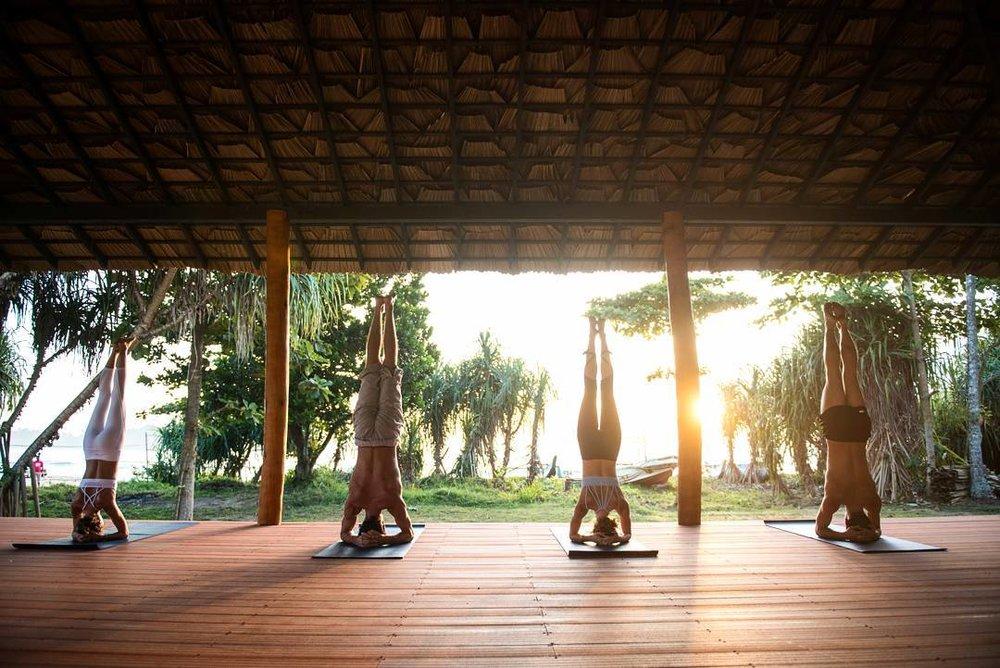 Open air living (and sleeping) at Talalla Retreat in Sri Lanka | Photo Courtesy of Talalla Retreat