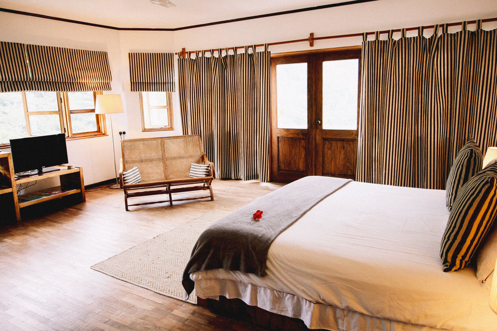 All 6 rooms of Copolia Lodge are immaculately kept and well designed
