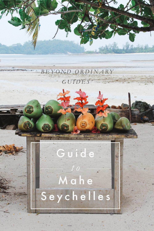 Guide to Mahe Island, Seychelles