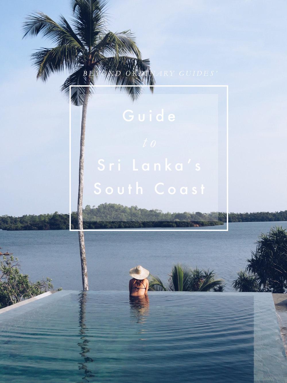 Guide to Sri Lanka's South Coast