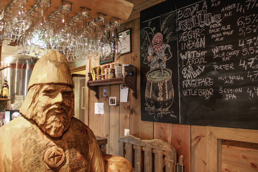 Aegir Brewpub in Flam, Norway