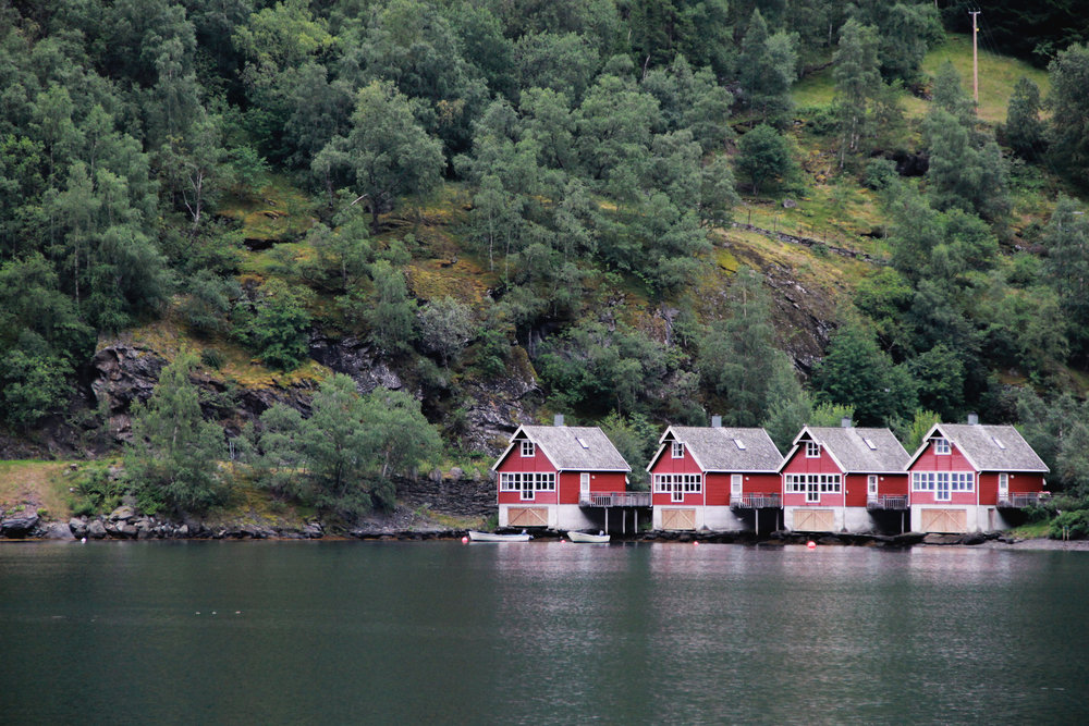 Cabins in Flam, Norway
