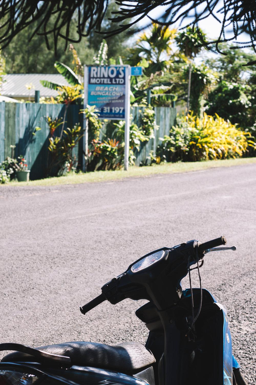 Scooter Rental on Aitutaki Island