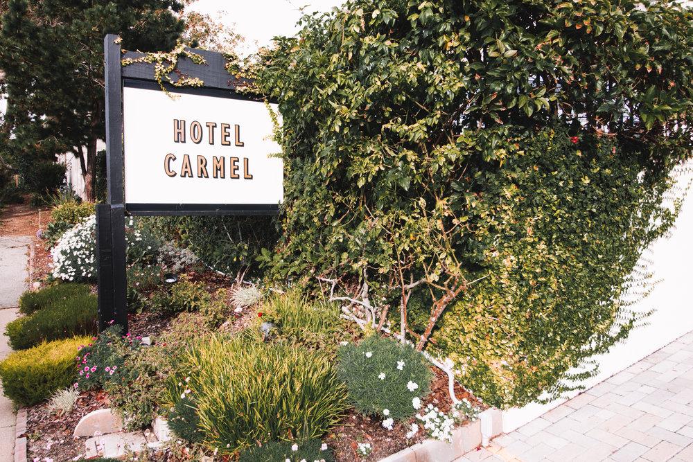 Hotel Carmel   Carmel, California