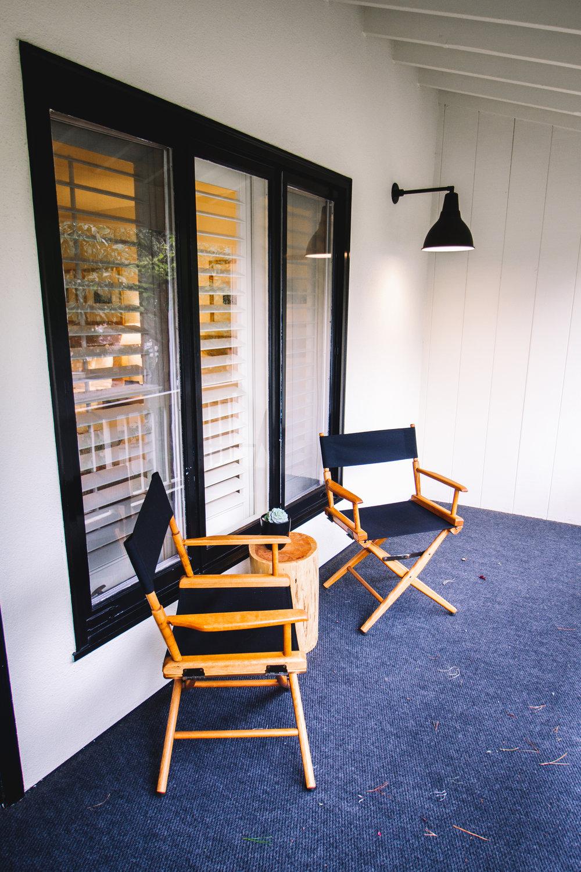 Private  Balcony at Hotel Carmel