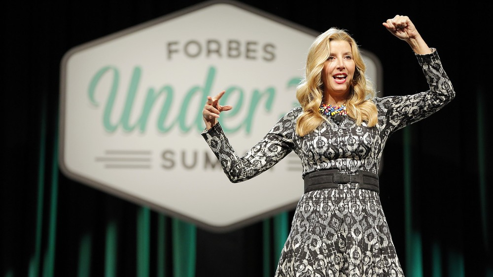 Sara Blakely at Forbes Under30 Summit