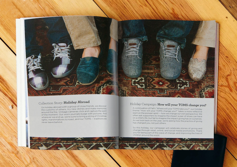 TOMS Shoes Winter Catalogue