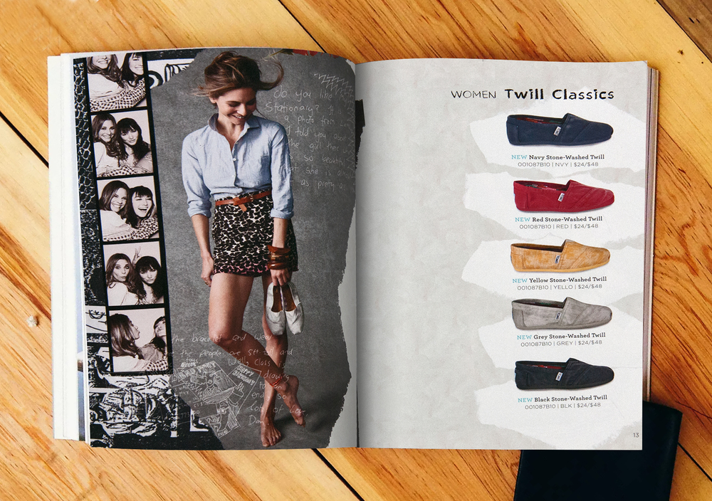 TOMS Shoes Summer Catalogue 2