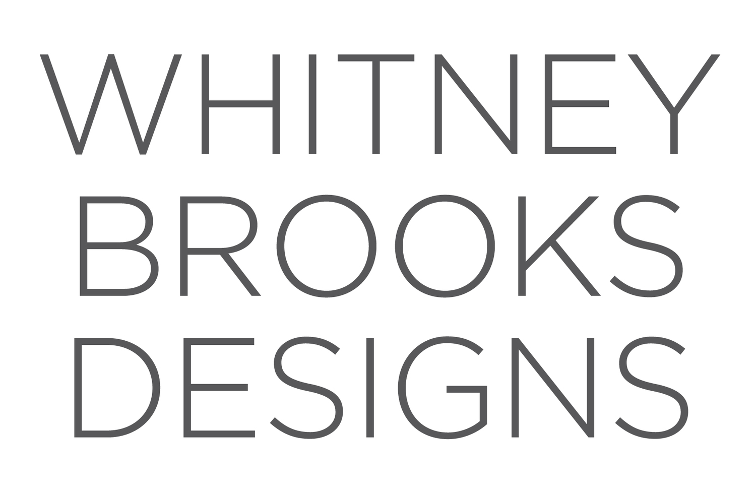 WHITNEY BROOKS DESIGNS
