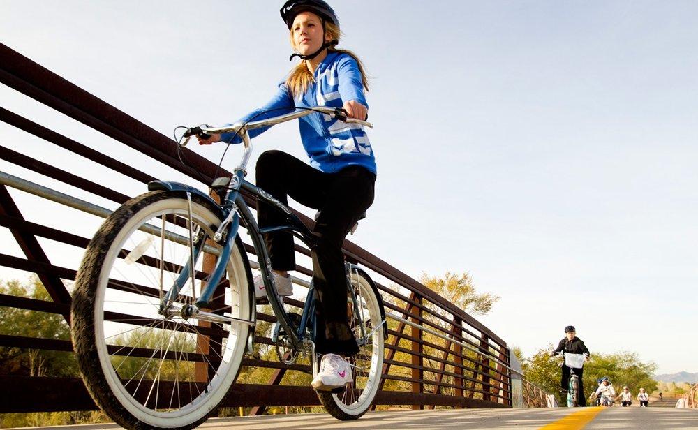 Mountain bike tours, road bike tours, bike rentals, Tucson makes it easy for all types of biking.