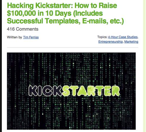 hackingkickstarter