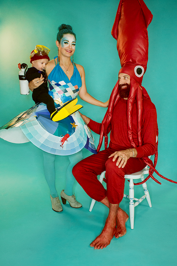 Life Aquatic Halloween Family Portraits