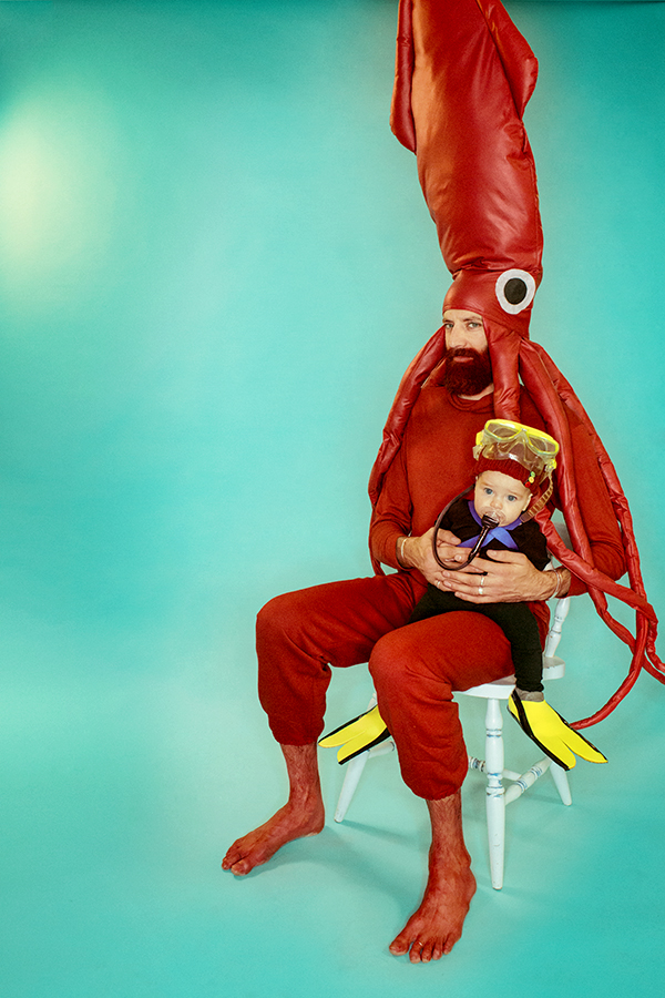 Life Aquatic Halloween Family Portraits & JACQUES COUSTEAU AND THE GIANT SQUID u2014 FIELD GUIDE DESIGNS