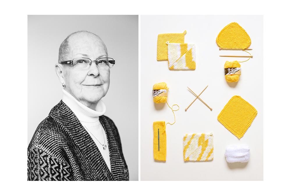 Knitter Crochet Tool Set Taxonomy Art