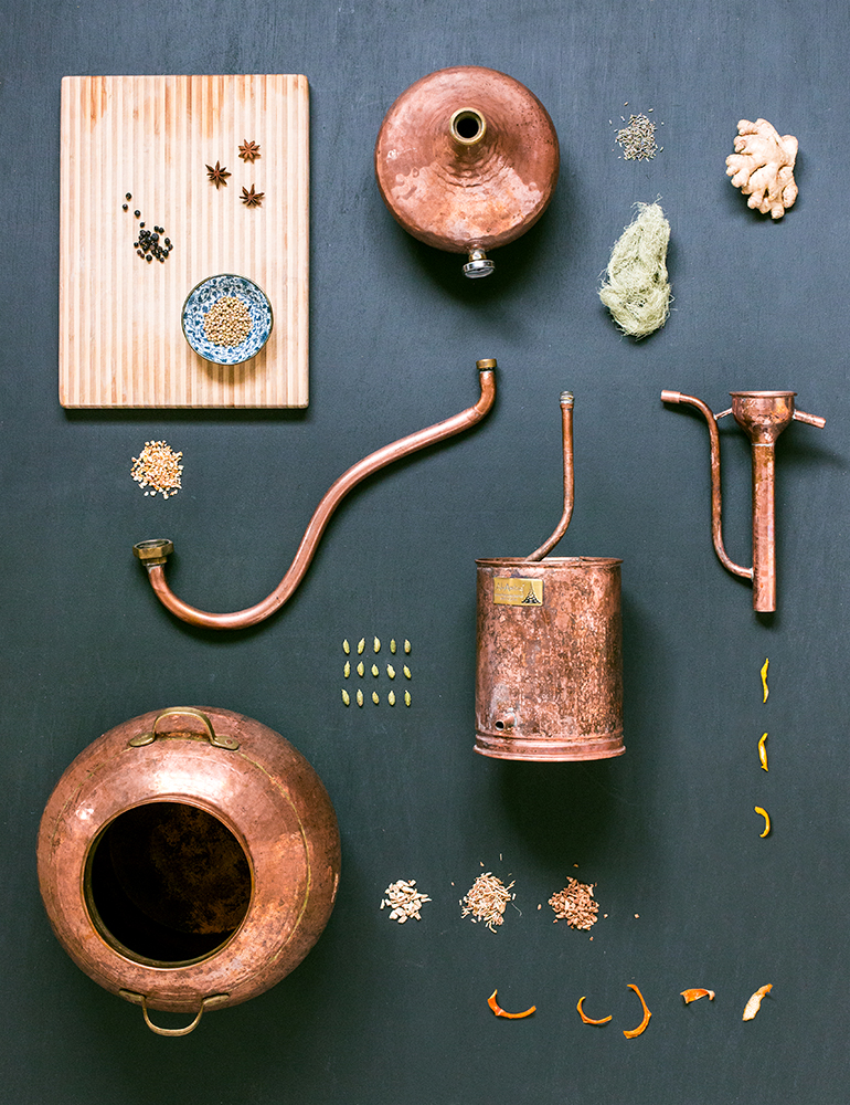 The Gin Distiller : Fine Art Print