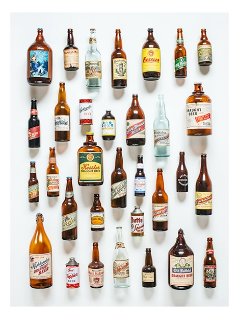 Montana Beer History : Art Print