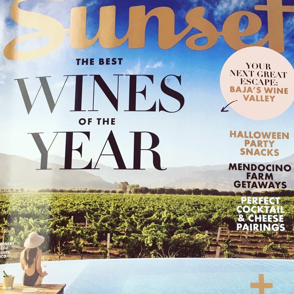 Sunset Magazine October 2017 : Field Guide Designs