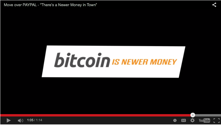 Bitcoin parody https://www.youtube.com/watch?v=O1O3wY_zTSI