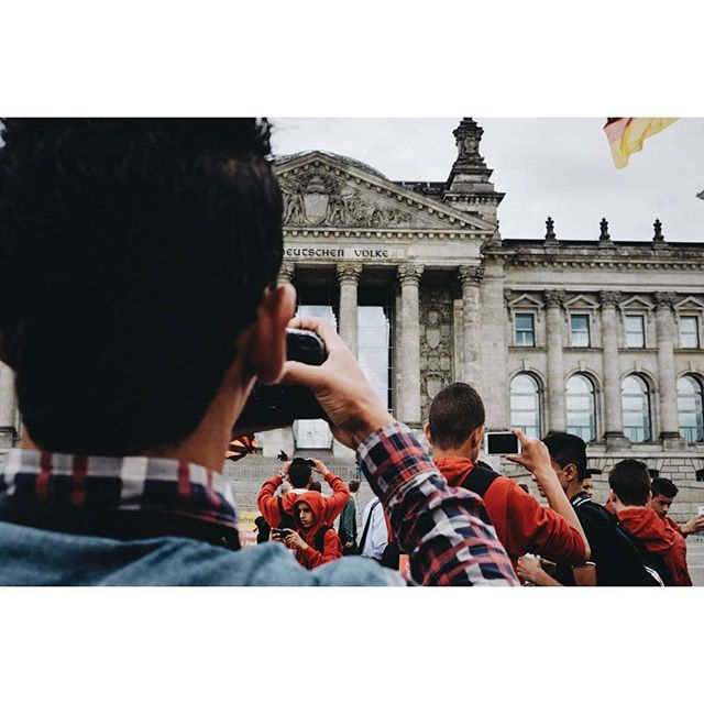 """In-tourist-ed in all the landmarks."" _ Berlin, Germany 2015  #wearegrryo#streets_storytelling#capturestreets#best_streetview#pocket_streetlife#mafia_streetlove#lensculturestreets#streetselect#cobblescope#ourstreets#challengerstreets#fromstreetswithlove#lensonstreets#friendsinperson#apfmagazine#streetphotocargo#jj_streetshots#instagramhub#instamagazine_#streetscenesmag#instagood#watchthisinstagood#urbanromantix#serikat_sp#blogto#royalsnappingartists#streetshared#thecanadiancollective#myfeatureshoot#thisismystreet"