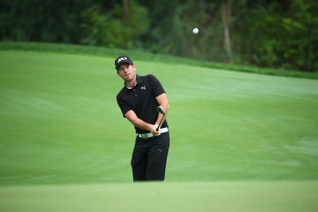 Josh Geary. Photo: PGA TOUR China Series/Liu Zhuang