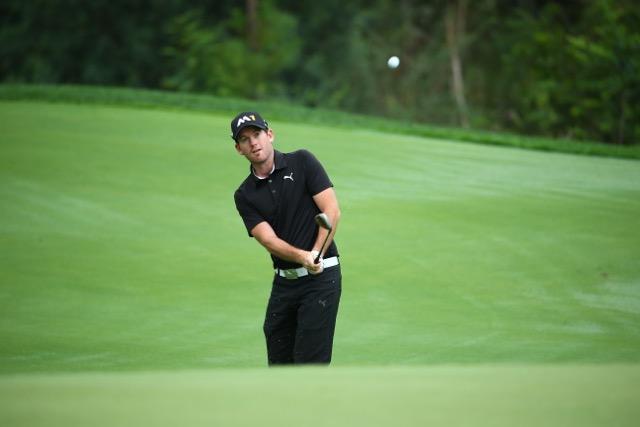 Josh Geary. Photo: PGA TOUR China Series/Liu Zhuang