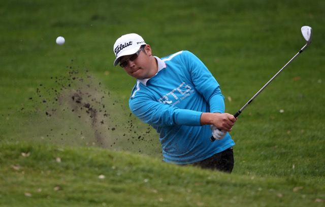 Taranaki Open Winner Joonsang Chung. PHOTO: NZ GOLF