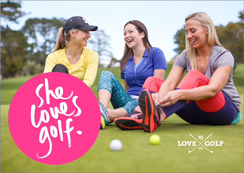 Photo: NZ Golf/SHE LOVES GOLF Campaign