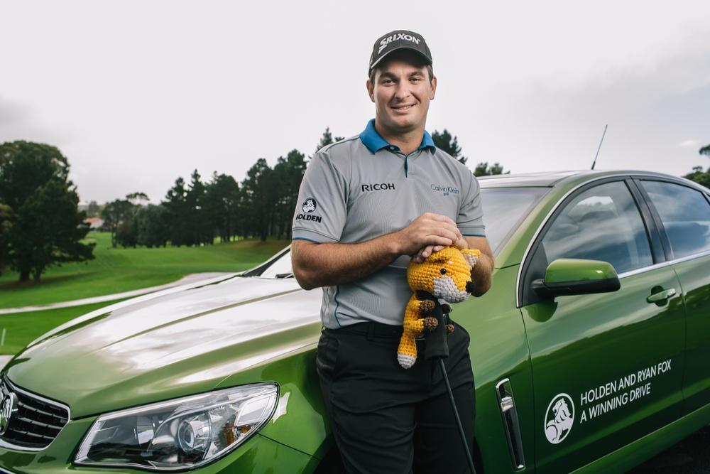 Holden and Ryan Fox: A winning drive. Photo: NZ Holden