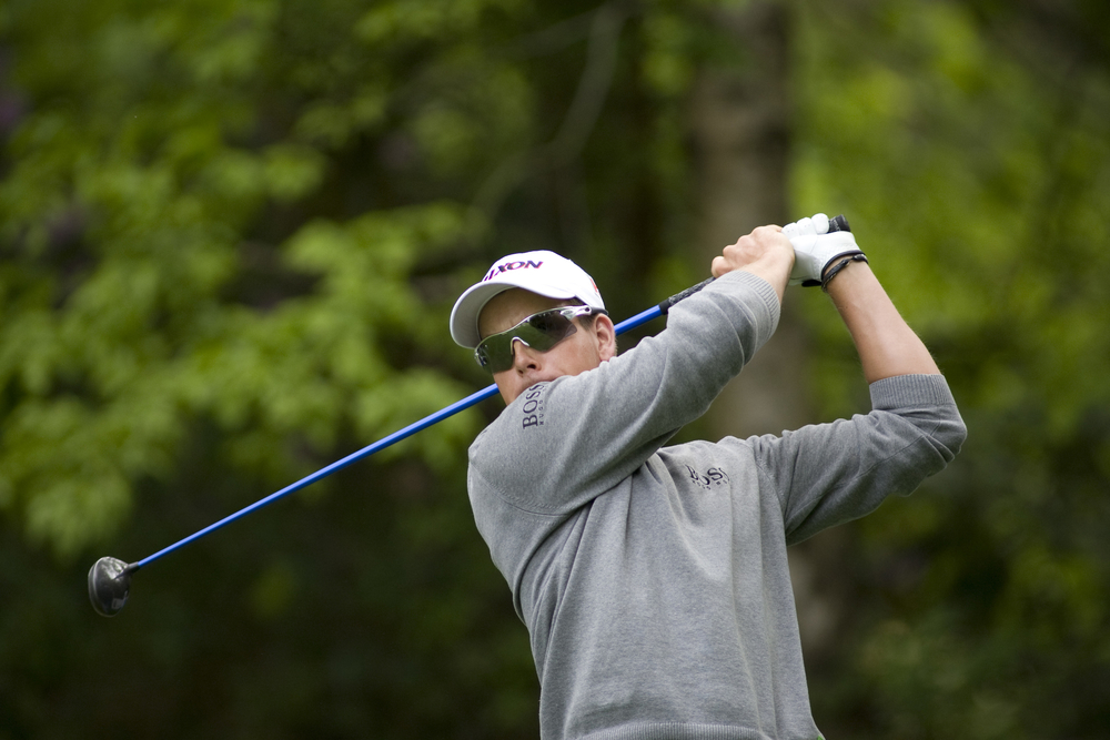 Henrik Stenson in action. Photo: Mitchell Gunn/Dreamstime