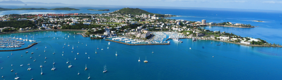 "Down town Noumea ""South of France in the Pacific"", great food, shopping and leisure activities."